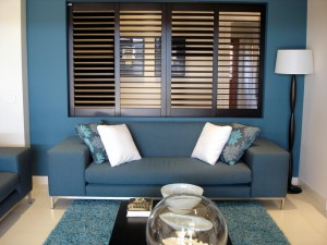 Mandeville Faux Wood Plantation Shutters